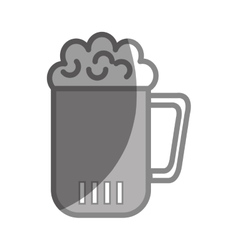 Beer glass drink flat icon vector