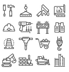 Building construction and home repair vector