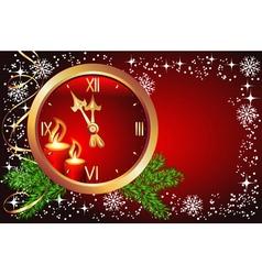 Christmas chimes vector