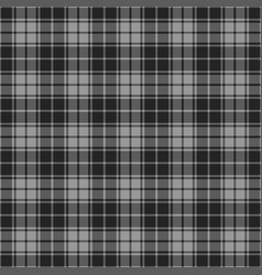 Gingham seamless plaid pattern vector