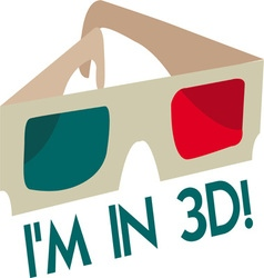 Im In 3D vector