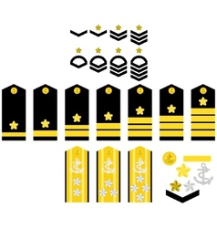 Japan Navy insignia vector