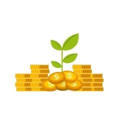 Money and profits design vector