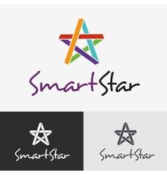 Star logo design template vector