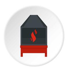 Blacksmith icon circle vector