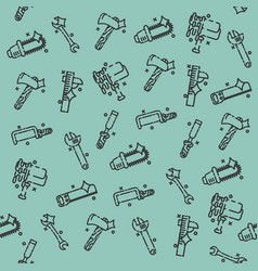instruments icons pattern vector image