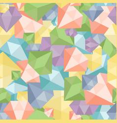 pastel diamond seamless pattern abstract luxury vector image vector image