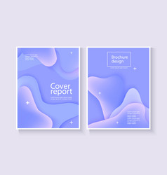 corporate report cover abstract background with vector image