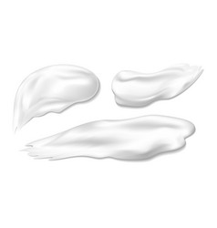 cosmetic cream on white background vector image