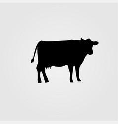 Cow icon vector