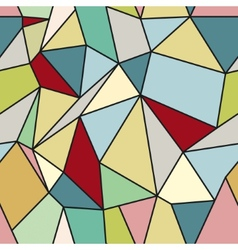 Geometric Abstract Seamless Polygonal Background vector image