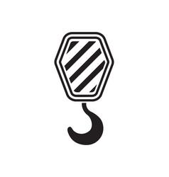 hook icon vector image