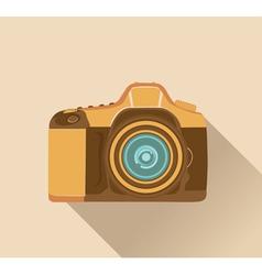 photo camera retro vector image