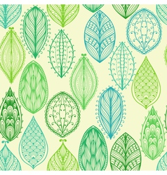 Seamless hand drawn vintage pattern vector