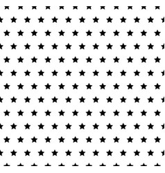 seamless pattern with stars and vector image