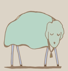 Sheep vector image