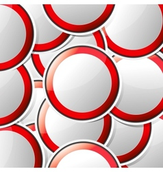 Sticker traffic symbols vector