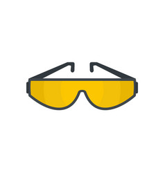sun glasses icon flat style vector image
