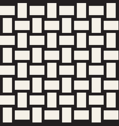 Trendy monochrome twill weave lattice abstract vector