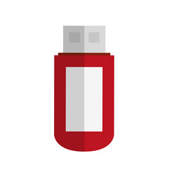 flash disk icon vector image