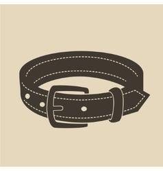 Dog collar vector