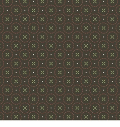 Seamless Vintage Graphic Pattern vector image