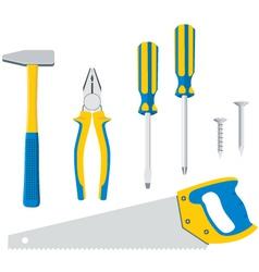 Tool Kit For Repair vector image vector image