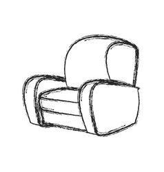 Chair sofa seat image sketch vector