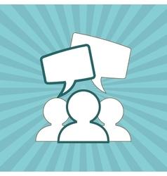 Communication design editable graphic vector