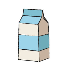 milk carton icon image vector image