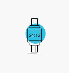 Smart watch smartwatch watch apple android line vector