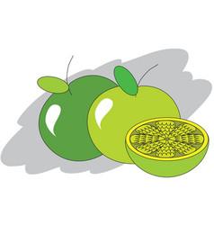 Sweet lemons vector