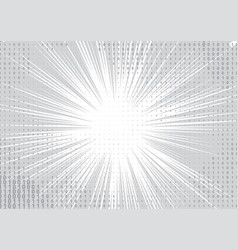 white and grey background vector image