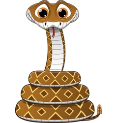 a rattlesnake vector image