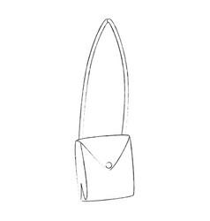 purse fashion isolated vector image