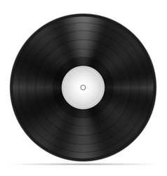 retro vinyl disk stock vector image
