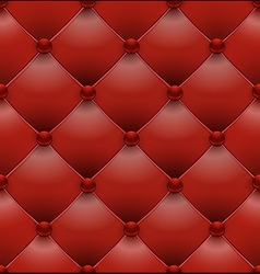 red royal upholstery seamless background vector image