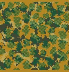 Fashion camo design trendy camouflage texture vector