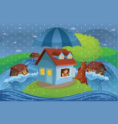 House insurance concept vector
