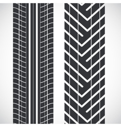 Tread pattern tyre vector image