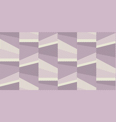 vintige style striped seamless wallpaper vector image