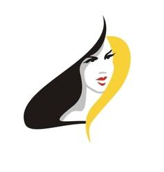Elegant blonde woman vector image vector image