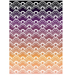 Seamless waves pattern vector image