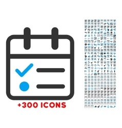 Day tasklist icon vector