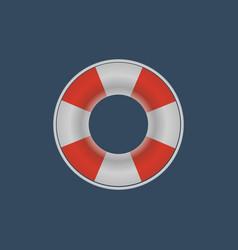 Lifebuoy lifebelt icon vector