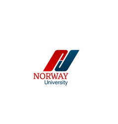 norway university creative vector image
