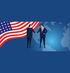 Us united states america international vector