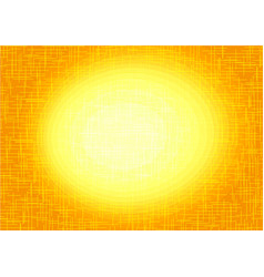 yellow orange background central vector image