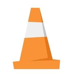 Road repair sign vector image