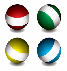 white band orb vector image